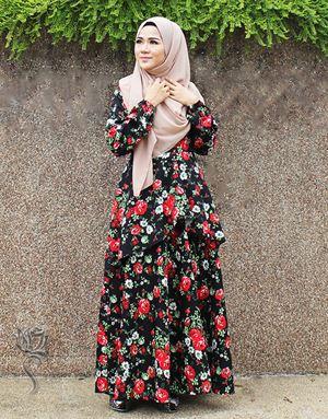 SELENA PRINCESS DRESS - BLACK
