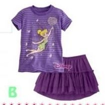 @  P30199-B FAIRLADY STRIPE PURPLE GIRL SET