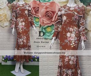 Dress Karina Brown