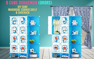Doraemon 8C DIY Cube w Corner Rack & Shoerack (DR8RS)