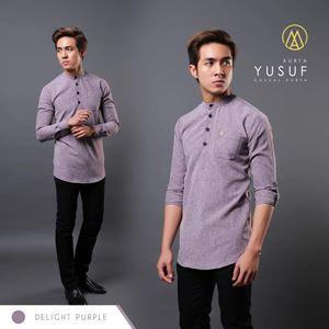 KURTA YUSUF ( DELIGHT PURPLE  )