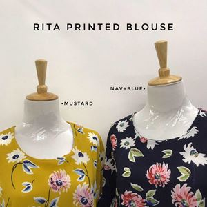 RITA PRINTED BLOUSE