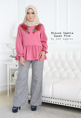 Blouse Sephia Sweet Pink