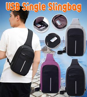 USB SINGLE SLINGBAG