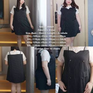 NC406  *Bust 43 to 55 inch/ 109-139cm