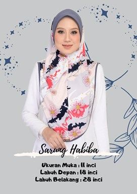 SARUNG HABIBA 5.0 (LELONG)