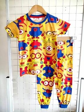 Pyjamas MINION & FRIENDS :  Big Size 14, 16