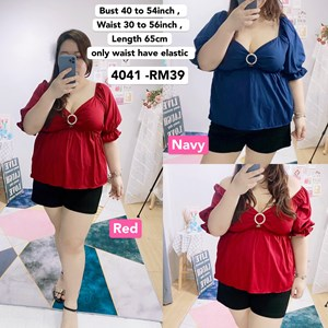 4041`*Ready Stock* Bust 40 to 54 inch / 102 - 137cm