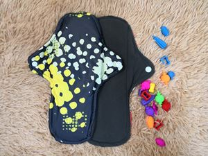 Cloth Pad - Modern (Brick) Size L
