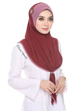 BAWAL MOSSCREPE DIAMOND BEADS