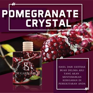 (AF) Pomegranate Crystal (SugarBomb) (Single)