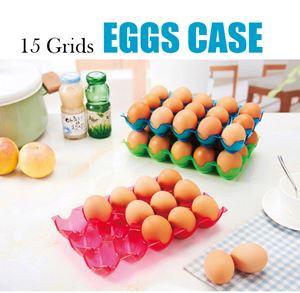 15 Grids Eggs Case