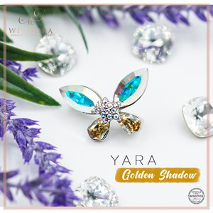 Brooch Yara Aurora Golden Shadow