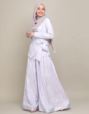 CHEMPAKA SONGKET IN LILAC