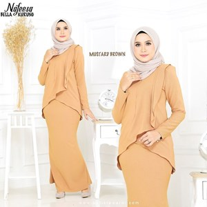 NAFEESA BELLA MUSTARD BROWN