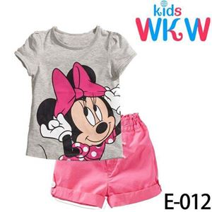 @  E012  WKW MINNIE GREY  ( SZ 2-7Y )