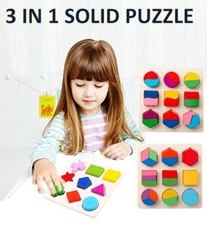 3 IN 1 SET SOLID PUZZLE N00898 eta 23 july 18