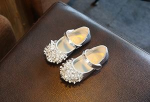 BLING DIAMOND SILVER GIRL SHOES