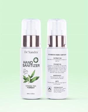 Green Tea - De'Xandra Hand Sanitizir 60ml