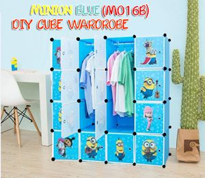 MINION BLUE 16C DIY WARDROBE (MO16B)