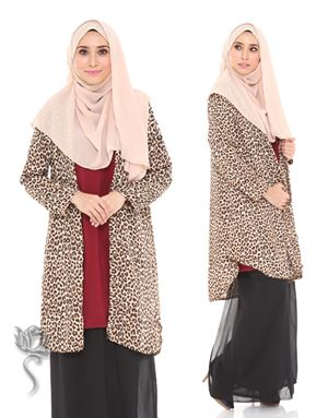 MIA CARDIGAN - BROWN