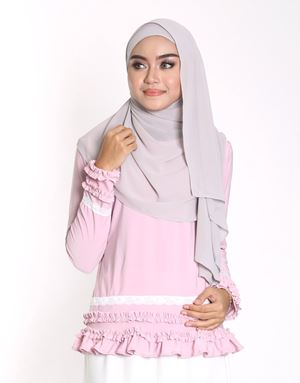 BLOSSOM TOP IN DUSTY PINK