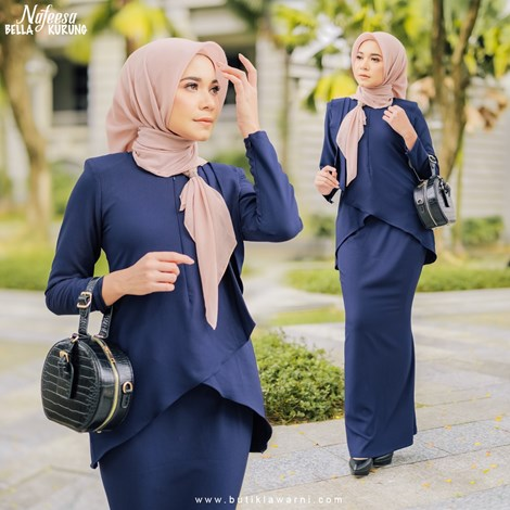 NAFEESA BELLA NAVY BLUE