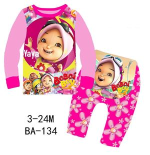 BA-134 'Yaya Boboi Boy' Pyjamas (3M-24M)