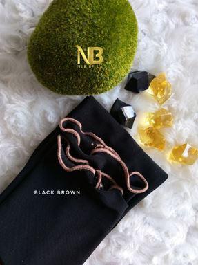 LUNA - BLACK BROWN