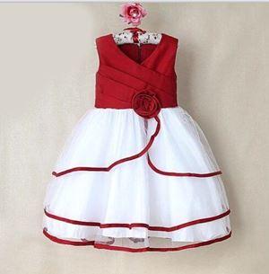 @  P30890 DINNER DRESS - RED
