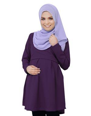 Alarra Blouse - Purple