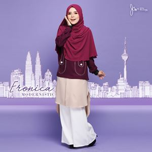 ERONICA MODERNISTIC ~NUDE~ (ROSE MAROON)