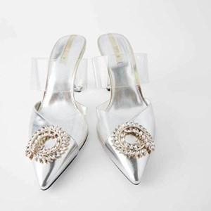 Zara Cinderella High-heeled Shoes