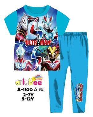 @  AILUBEE ULTRAMAN  SLEEPWEAR ( A1100A  ) SZ  2Y - 12Y