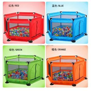 Hexagon baby playpen ( excluding ball )  + FREE sweve ball