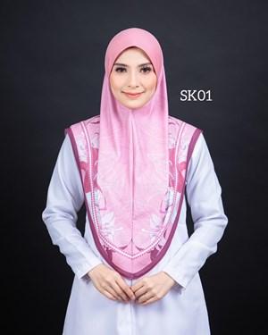 Tudung Sarung Siti Khadijah Berbatu (SK01)
