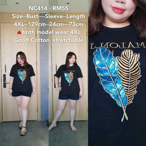 NC414 Ready Stock  *Bust 51 inch/ 129cm