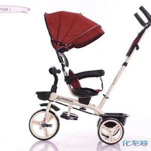 KIDS TRICYCLE STROLLER (T588)