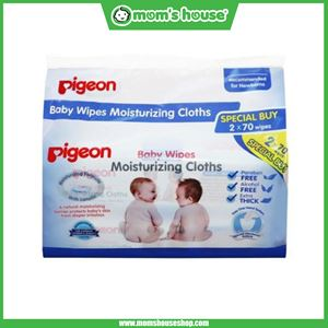 PIGEON - BABY WIPES MOISTURIZING CLOTH