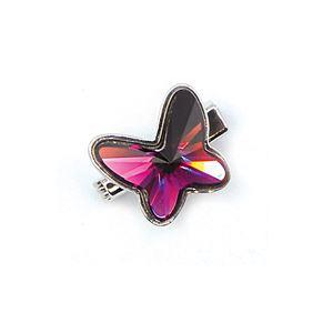 Brooch Butterfly Luxe Amethyst