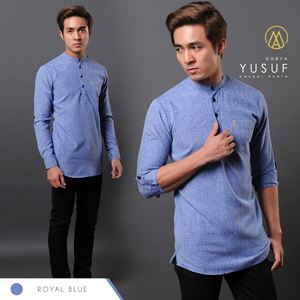KURTA YUSUF ( ROYAL BLUE )