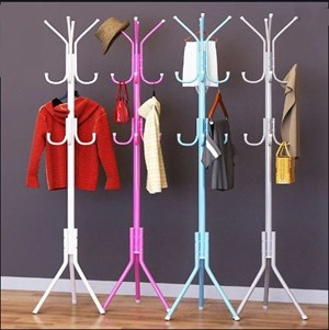12 HOOK HANGING POLE RACK