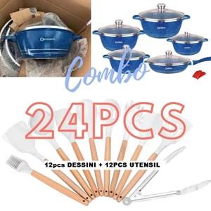 24PCS DESSINI KITCHEN - BLUE