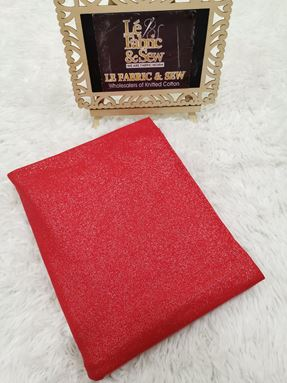 PLAIN GLITTER RED 1906068