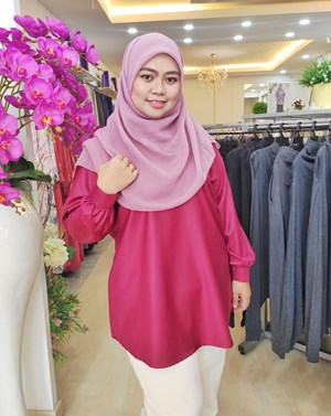 DONNA Top Red Mulberry Wood
