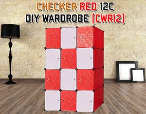 CHECKER 12C DIY WARDROBE (CWR12)