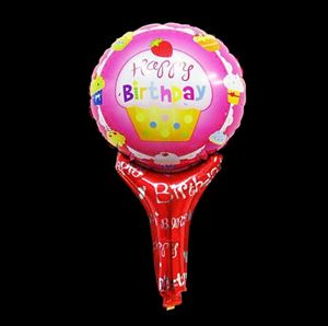 HANDHELD BALLOON ( BIRTHDAY )