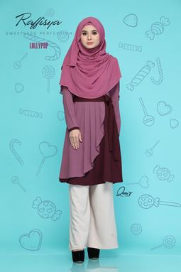 BLOUSE RAFFISYA - LOLLIPOP