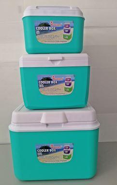 3pcs COOLER BOX - OCEAN BLUE
