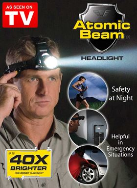 ATOMIC BEAM HEADLIGHT